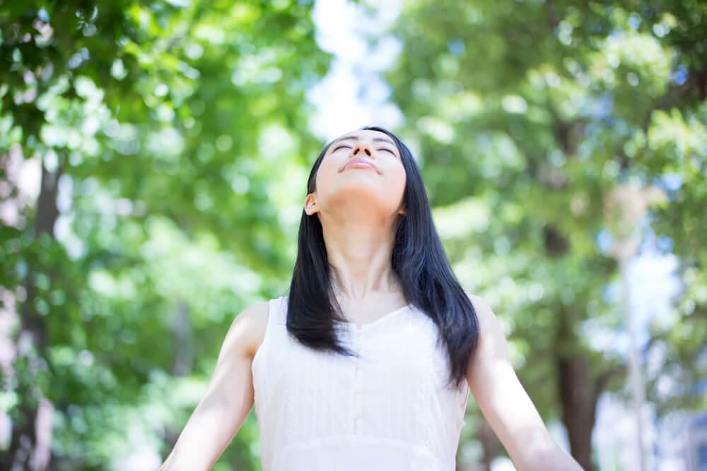 「正しい呼吸方法のエクササイズ」の画像