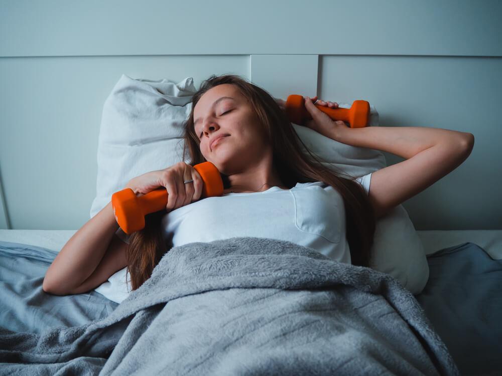 「筋トレと睡眠」の画像